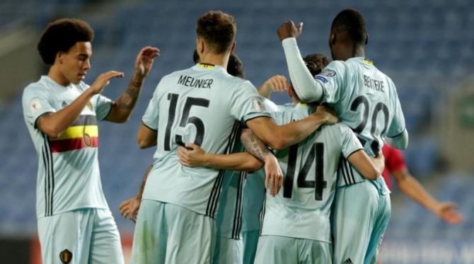 Nhận định bóng đá Bỉ vs Gibraltar, 01h45 ngày 01/09 (Vòng loại World Cup 2018) ảnh 1
