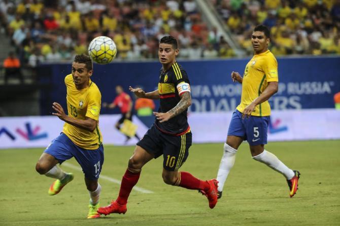 Nhận định bóng đá Colombia vs Brazil, 03h30 ngày 6/9 (Vòng loại World Cup 2018) ảnh 1