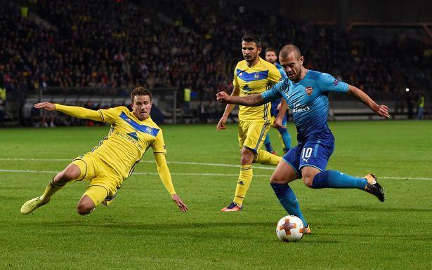 Nhận định bóng đá Crvena Zvezda vs Arsenal, 0h00 ngày 20/10 (Bảng H Europa League 2017/18) ảnh 1