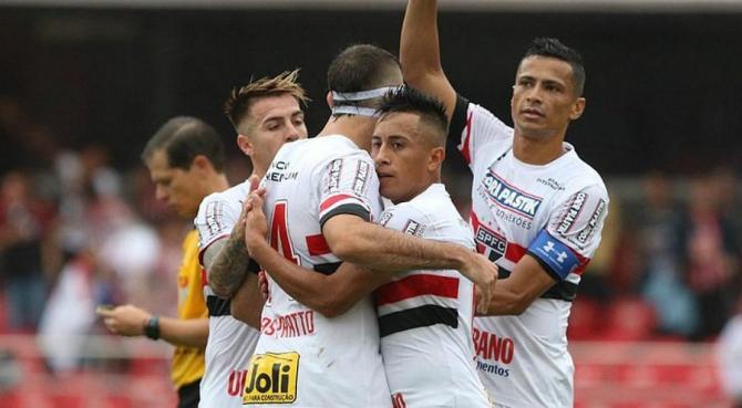 Nhận định bóng đá Sao Paulo vs Chapecoense, 5h00 ngày 10/11 (Vòng 33 giải VĐQG Brazil 2017) ảnh 1