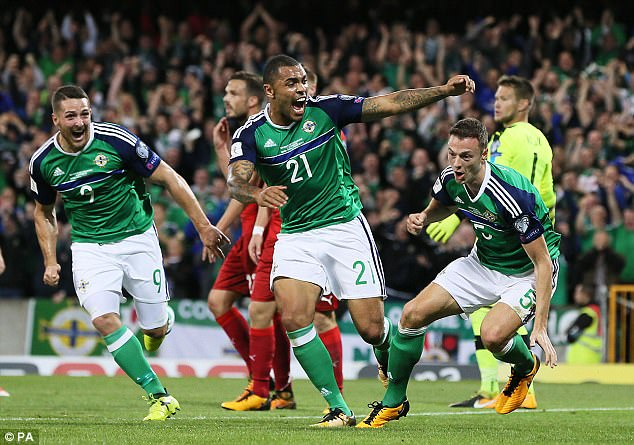 Nhận định bóng đá Bắc Ireland vs Thụy Sỹ, 02h45 ngày 10/11 (Play-off vòng loại World Cup 2018) ảnh 1