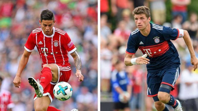 """8Live đưa tin Mueller và James """"tái khởi động cuộc chiến"""" tại Bayern"""