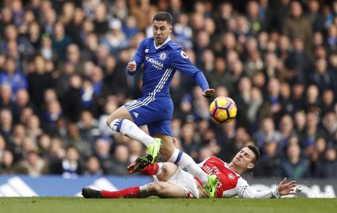 Nhận định bóng đá Chelsea vs Arsenal, 3h00 ngày 11/1 (Bán kết cúp Liên đoàn Anh 2017/18) ảnh 1
