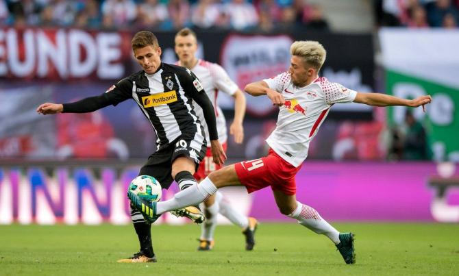 Nhận định bóng đá M'gladbach vs RB Leipzig, 0h30 ngày 4/2 (Vòng 21 Bundesliga 2017/18) ảnh 1