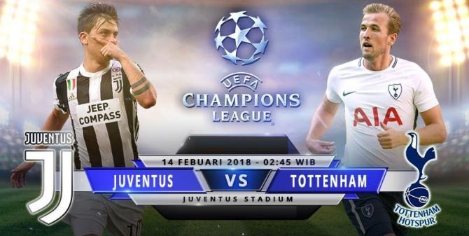 Nhận định bóng đá Juventus vs Tottenham, 2h45 ngày 14/2 (Vòng 1/8 Champions League 2017/18) ảnh 1