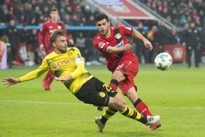 Nhận định bóng đá Dortmund  vs Atalanta, 01h00 ngày 16/02 (Vòng 1/16 Europa League 2017/18) ảnh 1