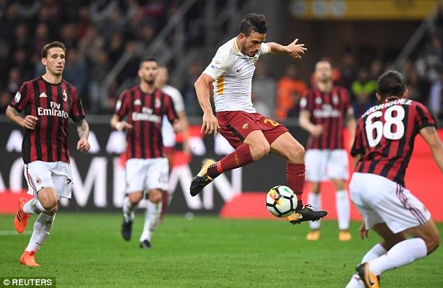 Nhận định bóng đá Roma vs Milan, 2h45 ngày 26/2 (Vòng 26 Serie A 2017/18) ảnh 1