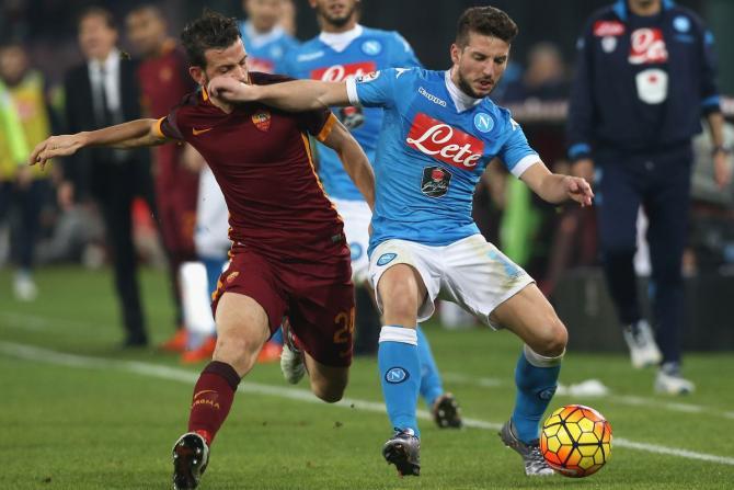 Nhận định bóng đá Napoli vs Roma, 2h45 ngày 4/3 (Vòng 27 Serie A 2017/18) ảnh 1
