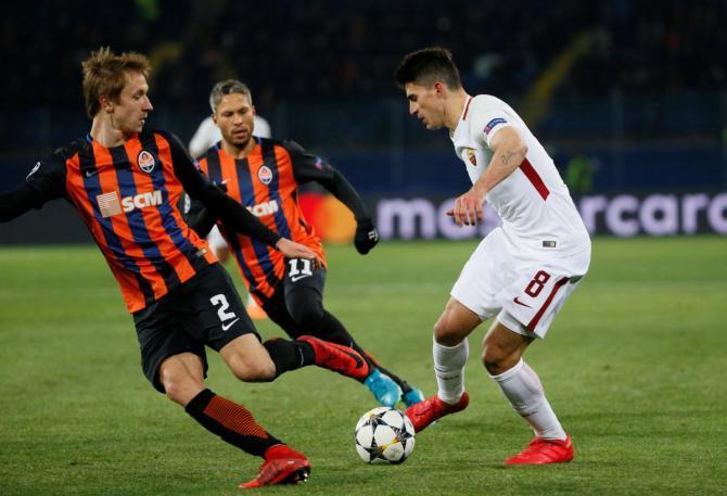 Nhận định bóng đá AS Roma vs Shakhtar Donetsk, 2h45 ngày 14/3 (Vòng 1/8 Champions League 2017/18) ảnh 1