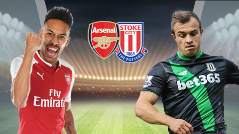 Nhận định bóng đá Arsenal vs Stoke City, 19h30 ngày 1/4 (Vòng 32 Ngoại hạng Anh 2017/18) ảnh 1