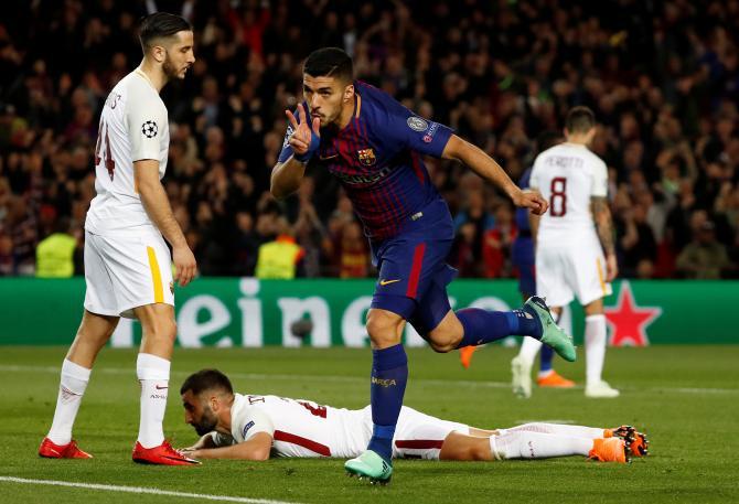 Nhận định bóng đá Roma vs Barcelona, 1h45 ngày 11/4 (Tứ kết Champions League 2017/18) ảnh 1