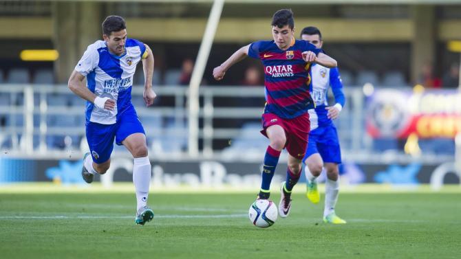 Nhận định bóng đá Huesca vs Barcelona B, 02h00 ngày 17/04 (Vòng 35 Hạng 2 Tây Ban Nha 2017/18) ảnh 1