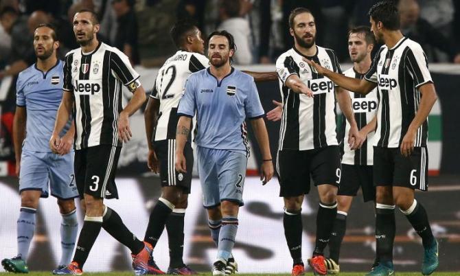 Nhận định bóng đá Juventus - Sampdoria, 23h00 ngày 15/4 (Vòng 32 Serie A 2017/18) ảnh 1
