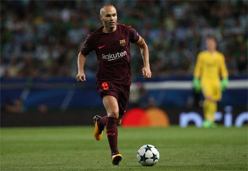 Web 388: Iniesta chuẩn bị chia tay Barca, sang Trung Quốc thi đấu