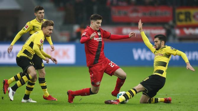 Nhận định bóng đá Dortmund vs Leverkusen, 23h30 ngày 21/4 (Vòng 31 Bundesliga 2017/18) ảnh 1
