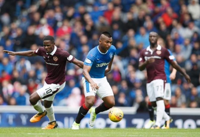 Nhận định bóng đá Glasgow Rangers vs Hearts, 18h30 ngày 22/04 (Giải VĐQG Scotland 2017/18) ảnh 1