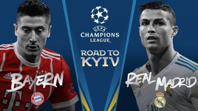 Nhận định bóng đá Bayern Munich vs Real Madrid, 1h45 ngày 26/4 (Bán kết Champions League 2017/18) ảnh 1