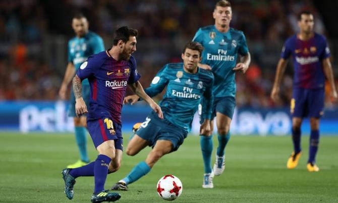 Nhận định bóng đá Barcelona vs Real Madrid, 01h45 ngày 07/05 (Vòng 36 La Liga 2017/18) ảnh 1