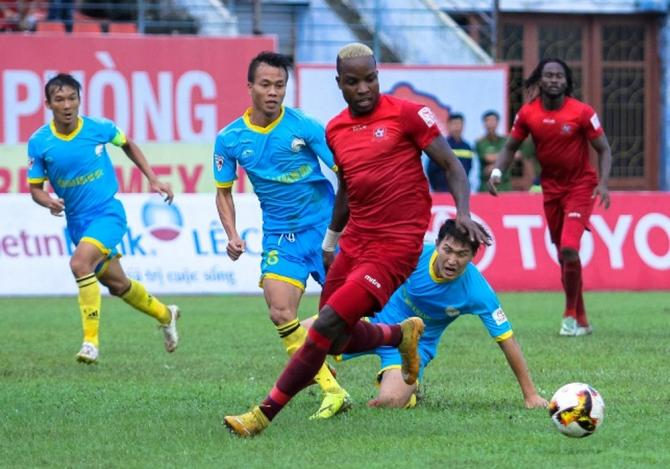 Nhận định Sanna Khánh Hòa - Hải Phòng, 17h00 ngày 22/7 (Vòng 20 - V.League 2018) ảnh 1