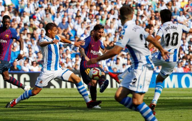 Nhận Định Barcelona vs Sociedad, 01h45 ngày 21/04 (Vòng 33 La Liga 2018/19) ảnh 1